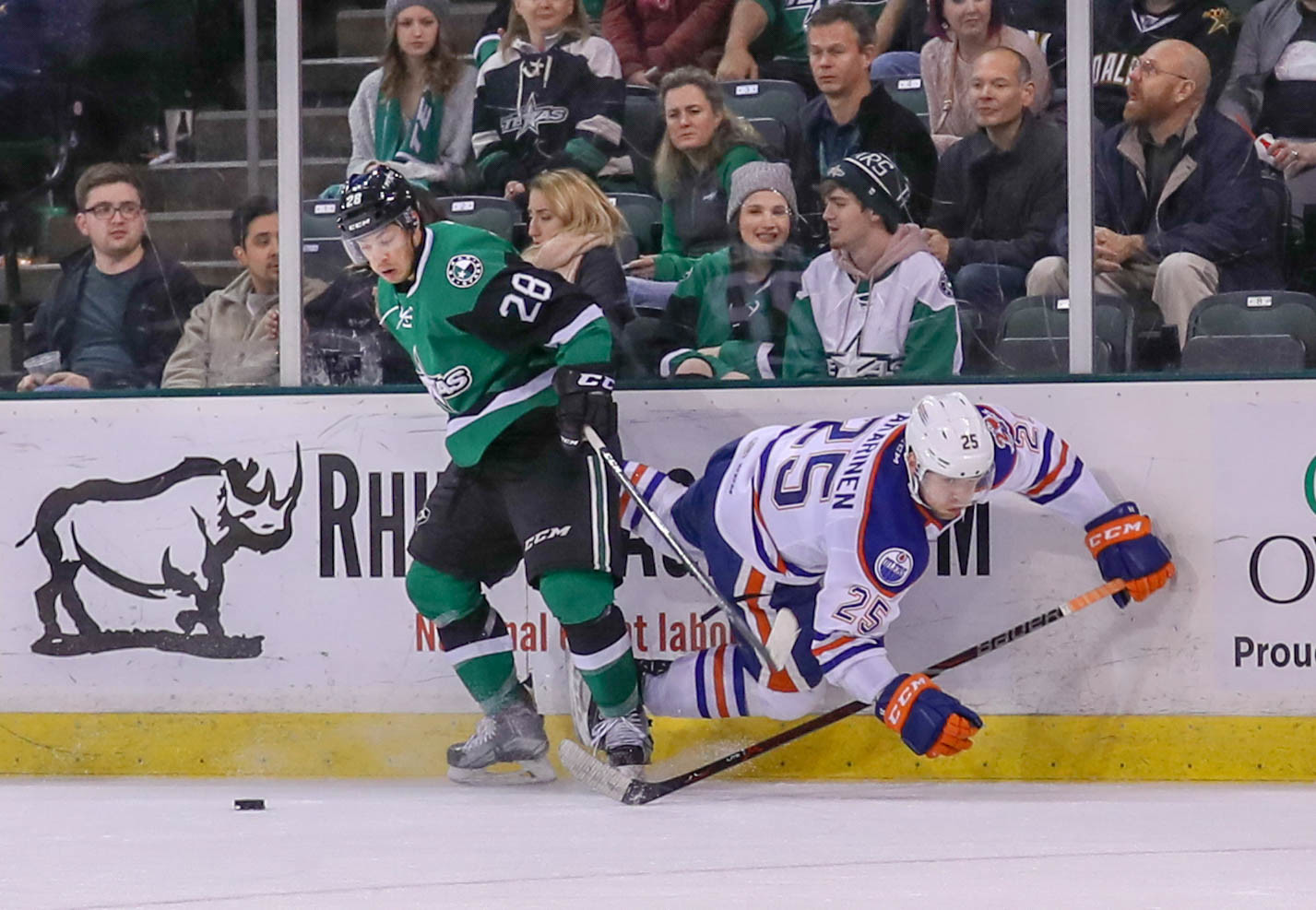 Brent Regner scored two goals and Texas trounced the Stockton Heat 7-2 on the road Friday night. It was the most goals the Stars have scored in a game this season.