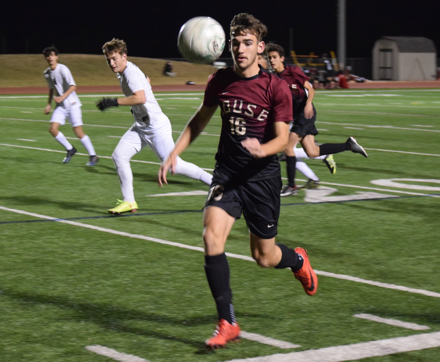 Forward Cohen Reed-Green led the Raiders with 14 goals last season and was a first-team all-district selection.