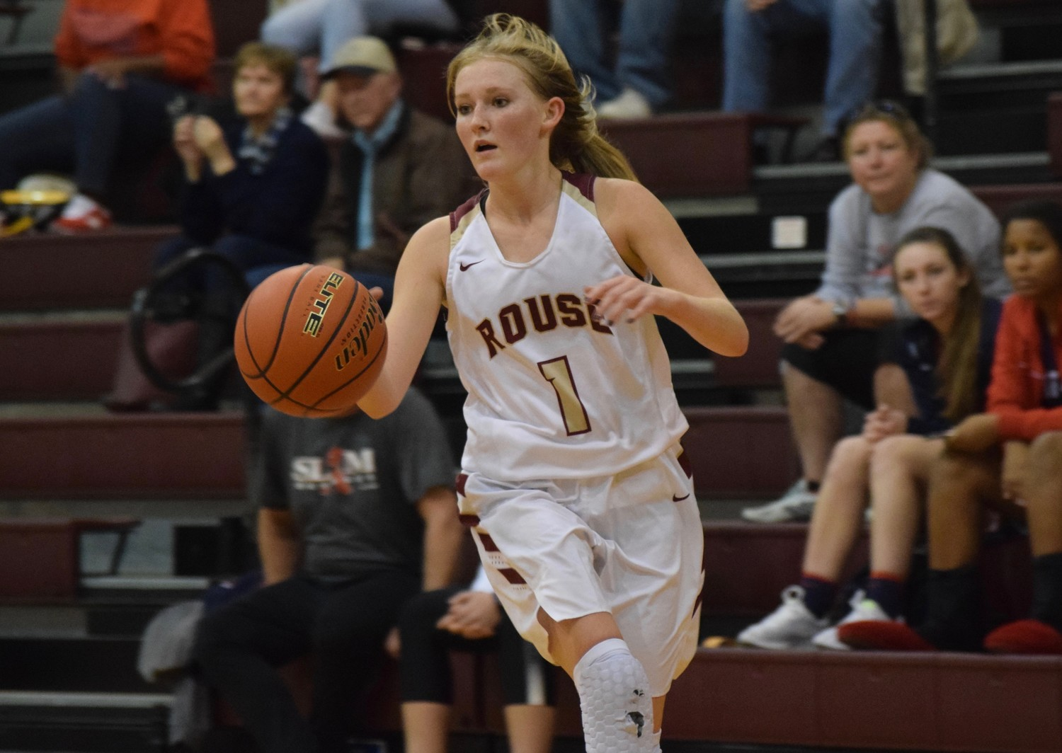 Brittney Martin and Rouse beat Tomball Memorial 59-39 in the first round of the playoffs Tuesday night. The No. 20 Lady Raiders will face Ennis in the area round on Friday.