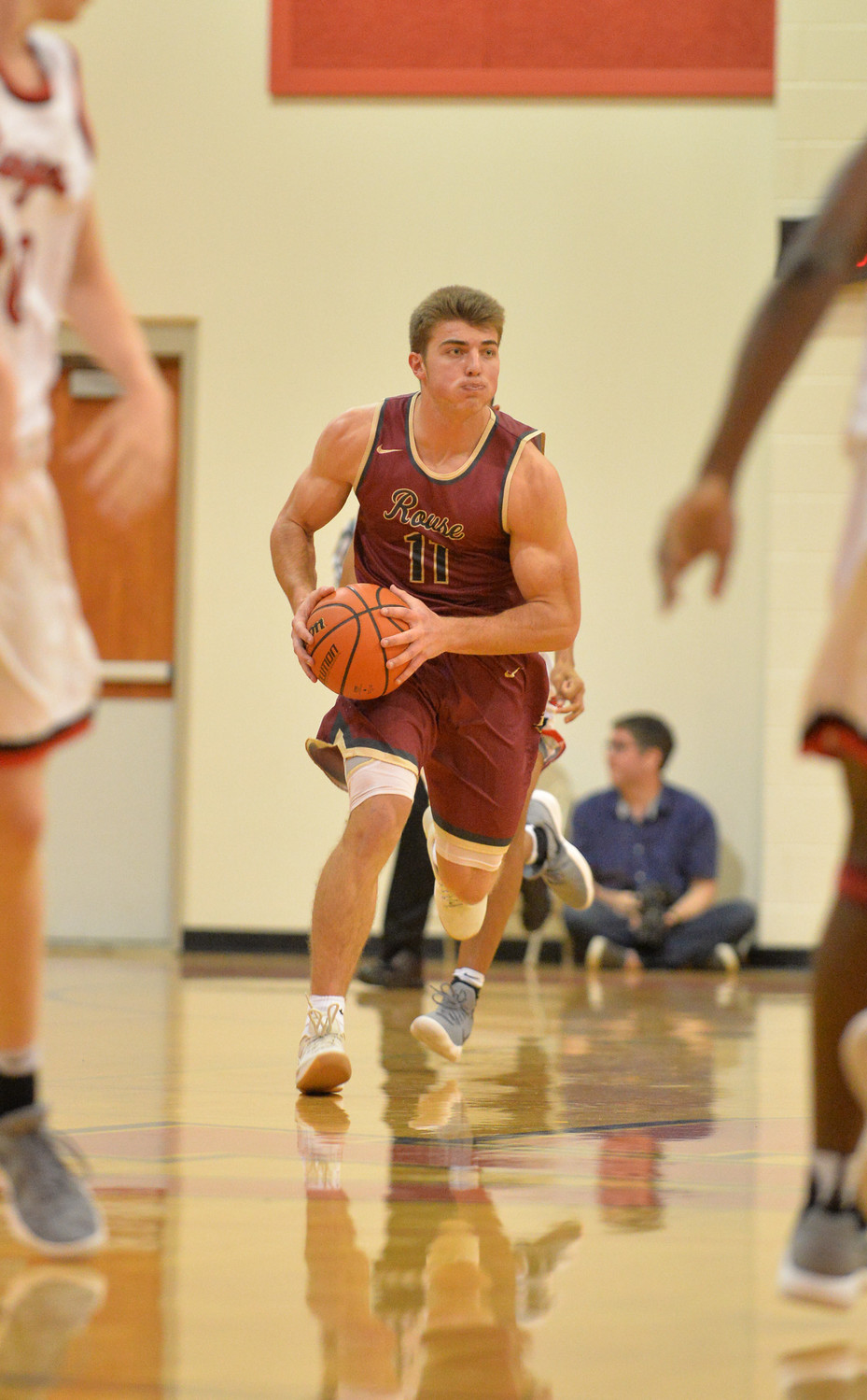 Rouse senior Carter McMahan averages 12.6 points and leads the team with 7.8 rebounds per game.