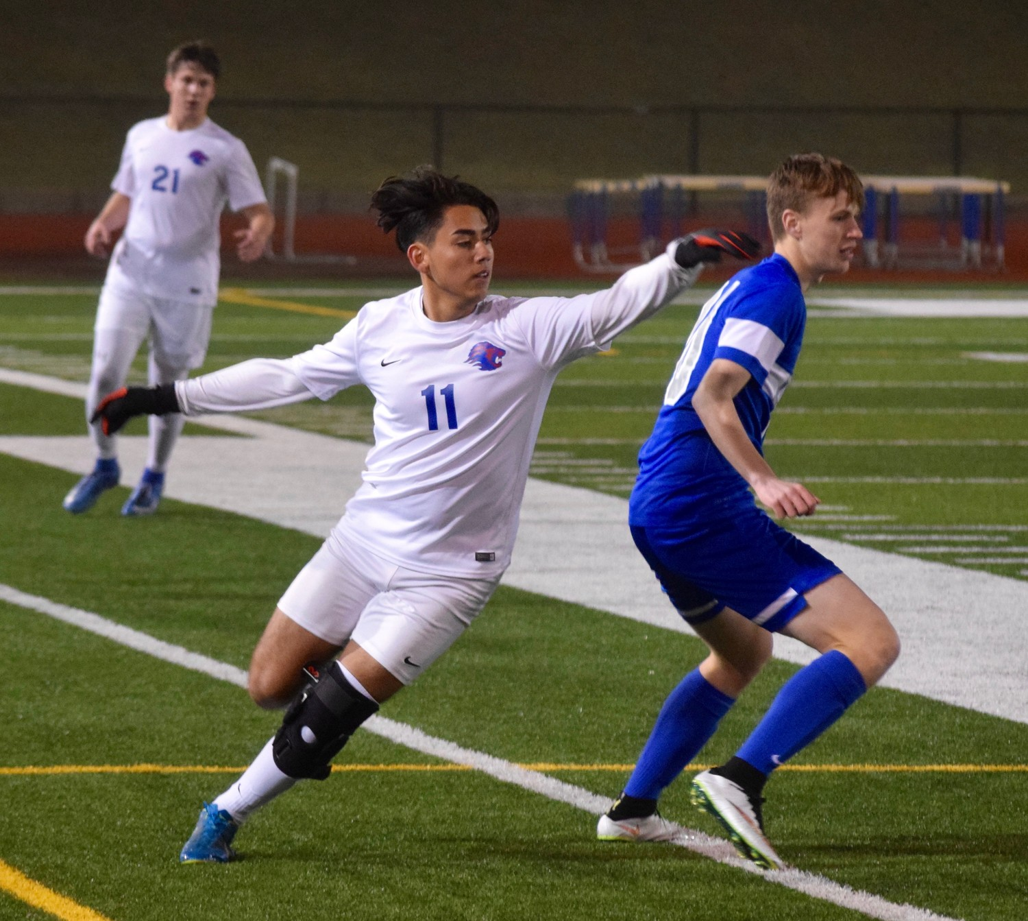 Lisandro Martinez and Leander reached the playoffs for the first time since 2015 with a 3-0 home win against Westlake last week.