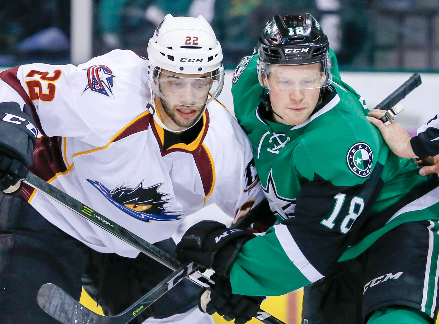 Sheldon Dries had a goal and an assist, but the Texas Stars lost to the Cleveland Monsters 6-5 in overtime on Friday night.