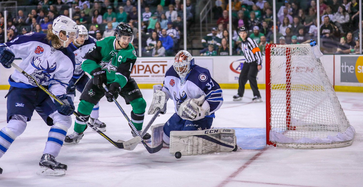 Curtis McKenzie scored a goal and the Texas Stars beat the Manitoba Moose 6-4 on Saturday night.