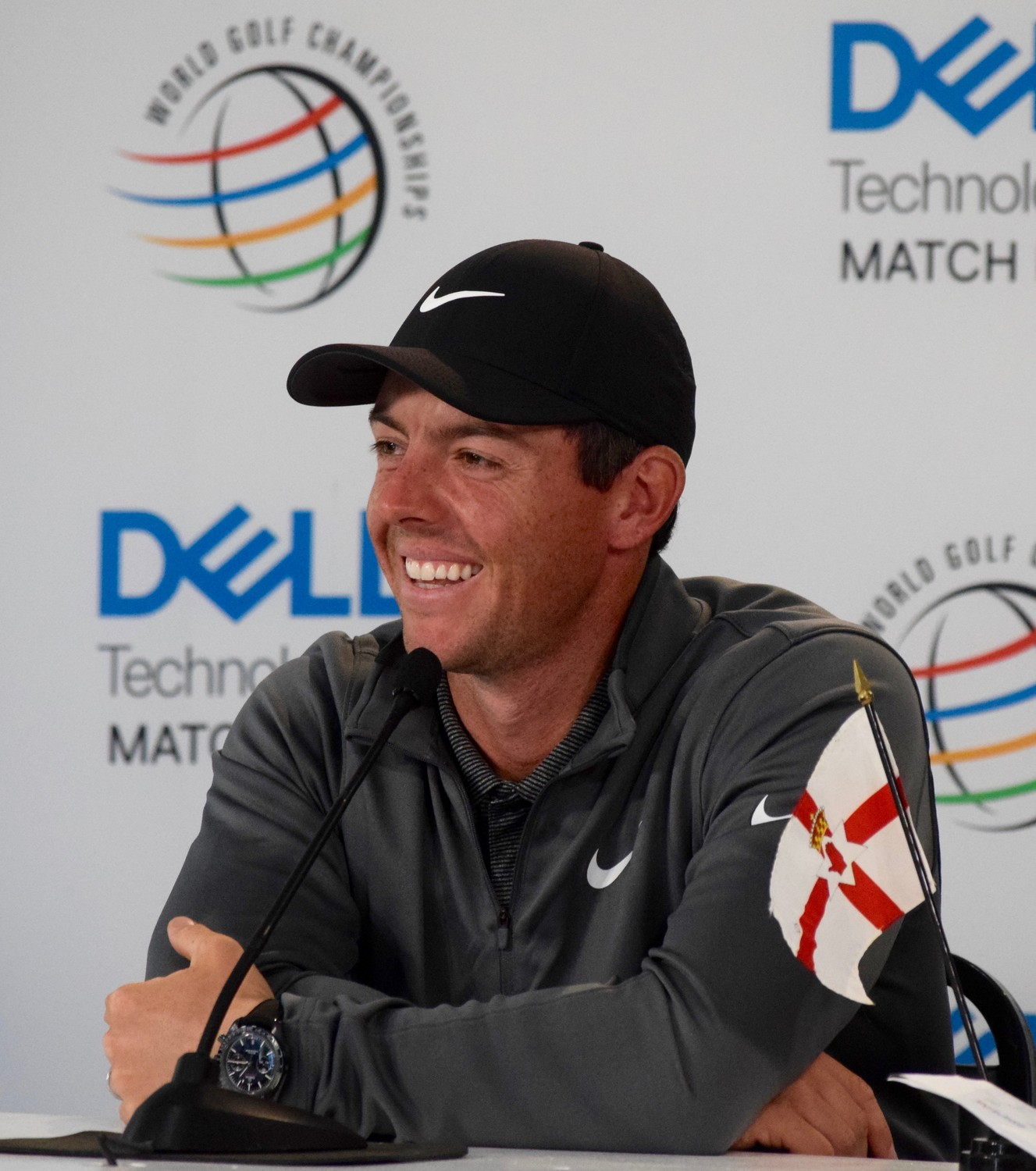 Rory McIlroy will face off with Brian Harman, former Texas golfer Jhonattan Vegas and Peter Uihlein in pool play at the WGC-Dell Technologies Match Play this week.