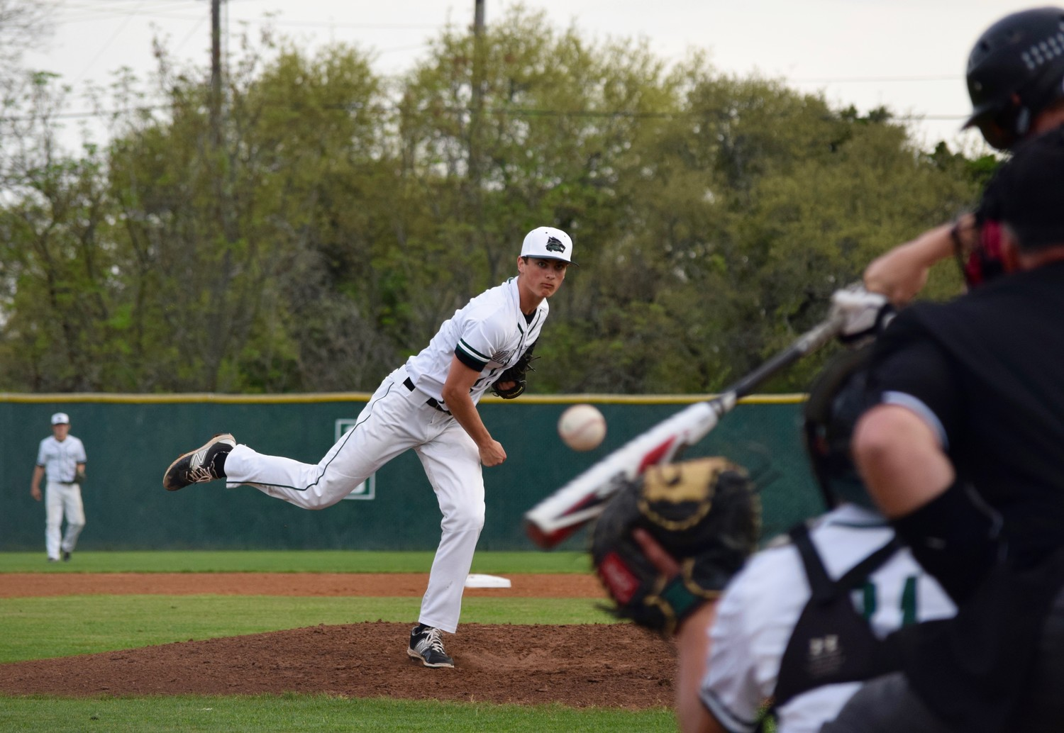Hutson McGaughan threw five strikeouts in five innings, but Cedar Park lost to Rouse 4-0 on Friday night.