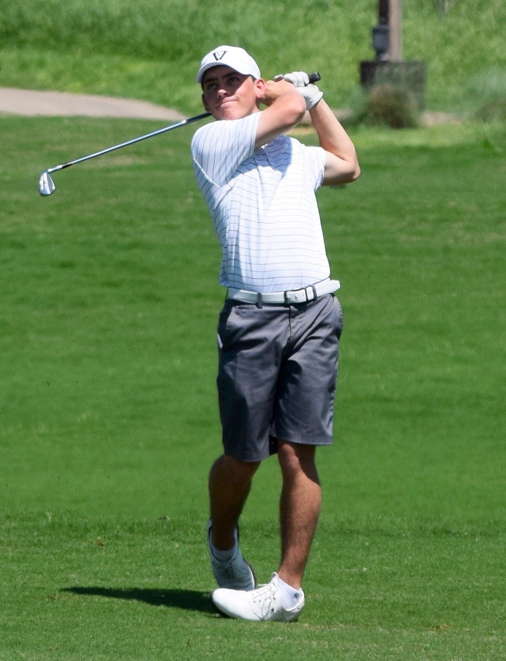 Jack Wehman and the Vandegrift boys' golf team finished in second place at the District 25-6A tournament on Thursday to qualify for the regional tournament in San Antonio.