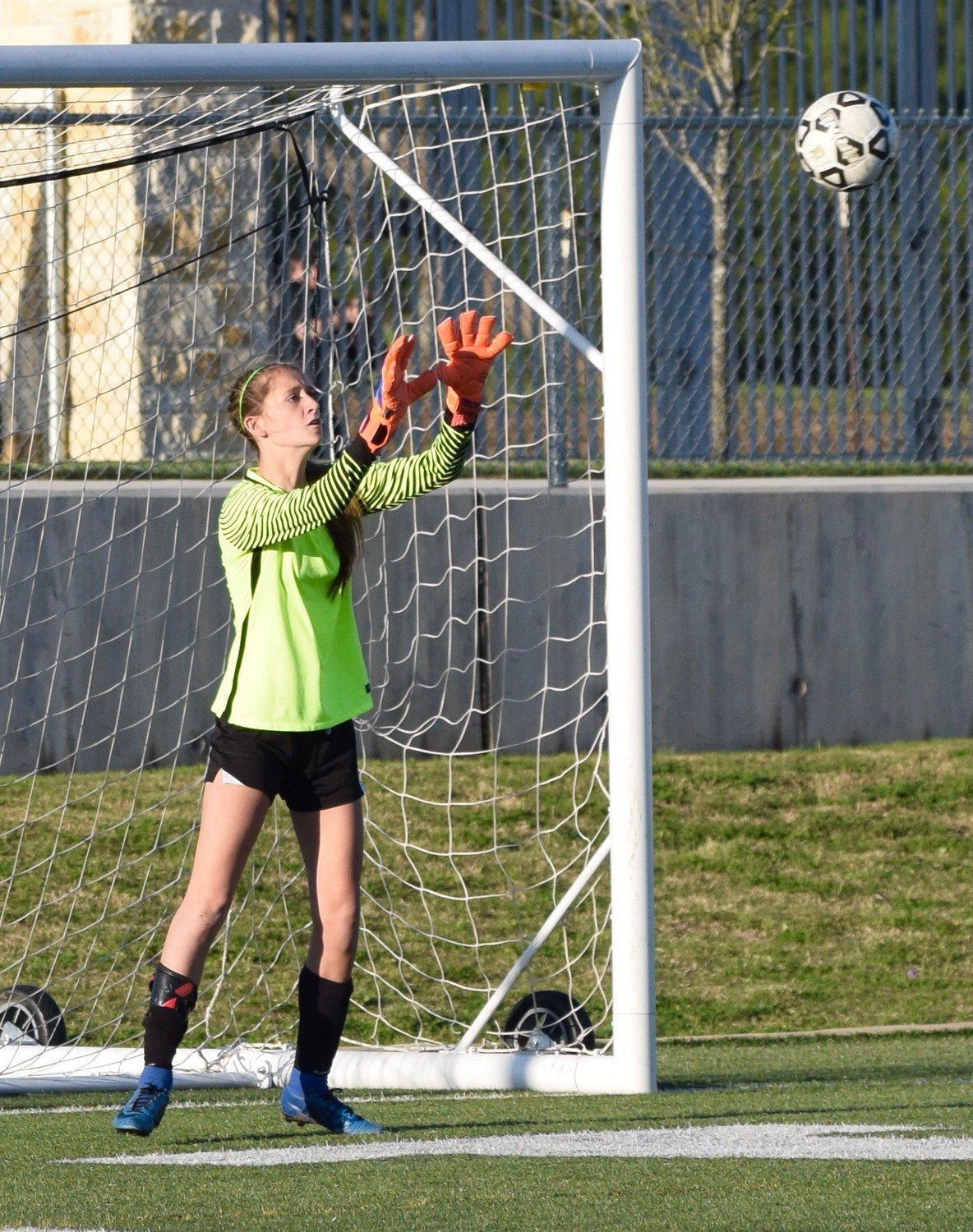 Erin Clawson and Vista Ridge lost to San Antonio Johnson 3-1 in Dripping Springs on Thursday night.