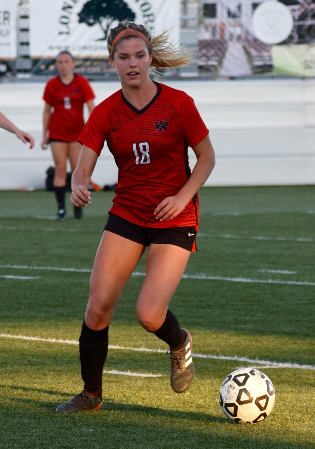 Kaitlynn John and Vista Ridge lost to San Antonio Johnson 3-1 in Dripping Springs on Thursday night.