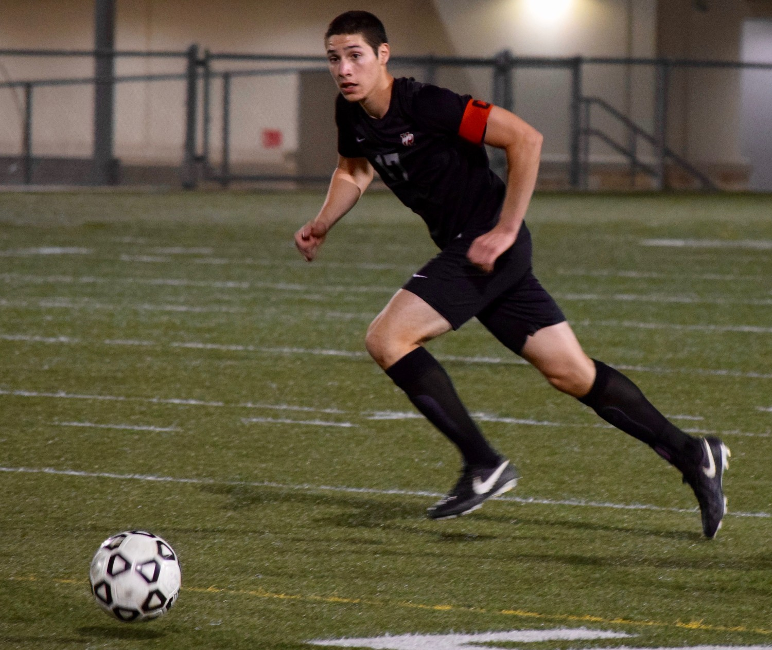 Diego Valadez and Vista Ridge lost to San Antonio Johnson Thursday night in the first round of the playoffs at Dripping Springs High School.