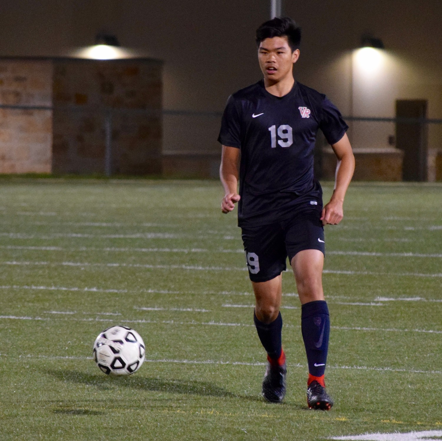 Khoa Dang and Vista Ridge lost to San Antonio Johnson Thursday night in the first round of the playoffs at Dripping Springs High School.