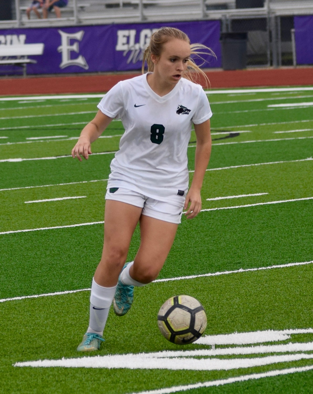 Ainsley Forbes and Cedar Park beat College Station 2-1 in the third round of the playoffs Tuesday night.