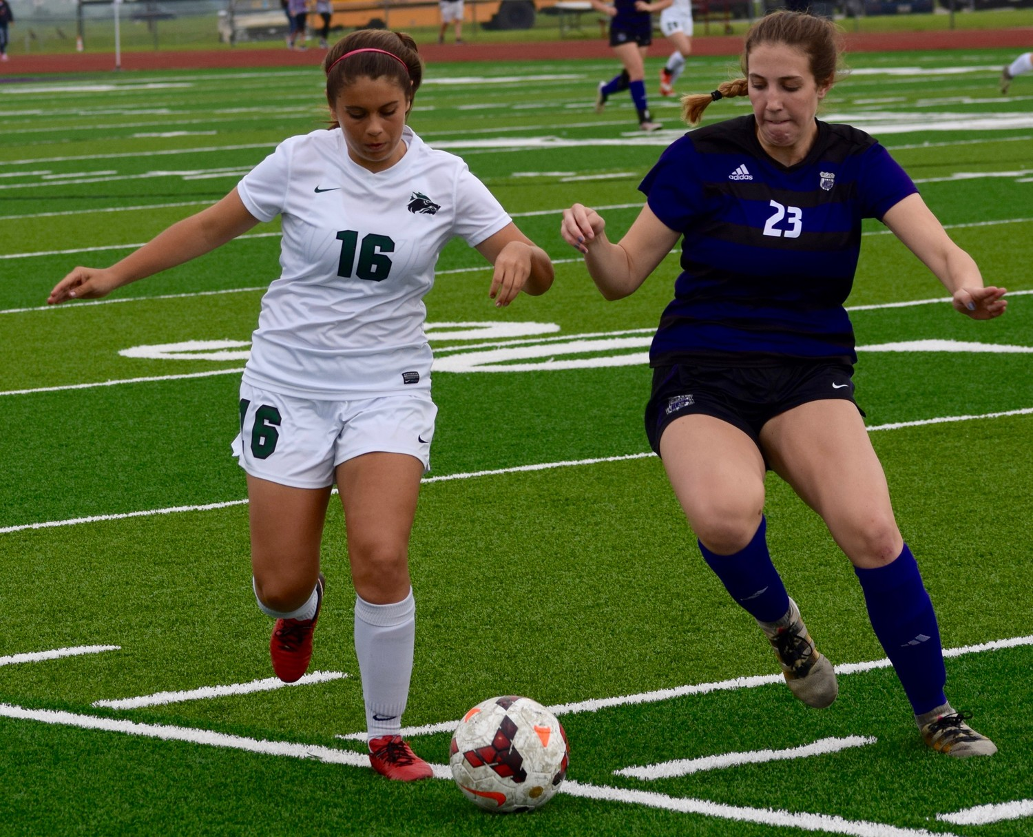 Bella Grenada and Cedar Park beat College Station 2-1 in the third round of the playoffs Tuesday night.