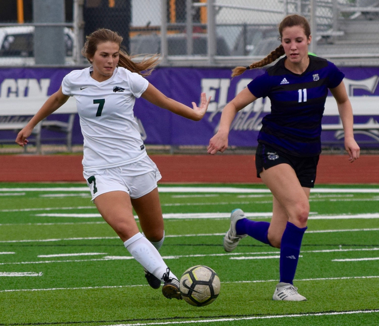 Jewell Resseguie scored two goals and Cedar Park beat College Station 2-1 in the third round of the playoffs Tuesday night.