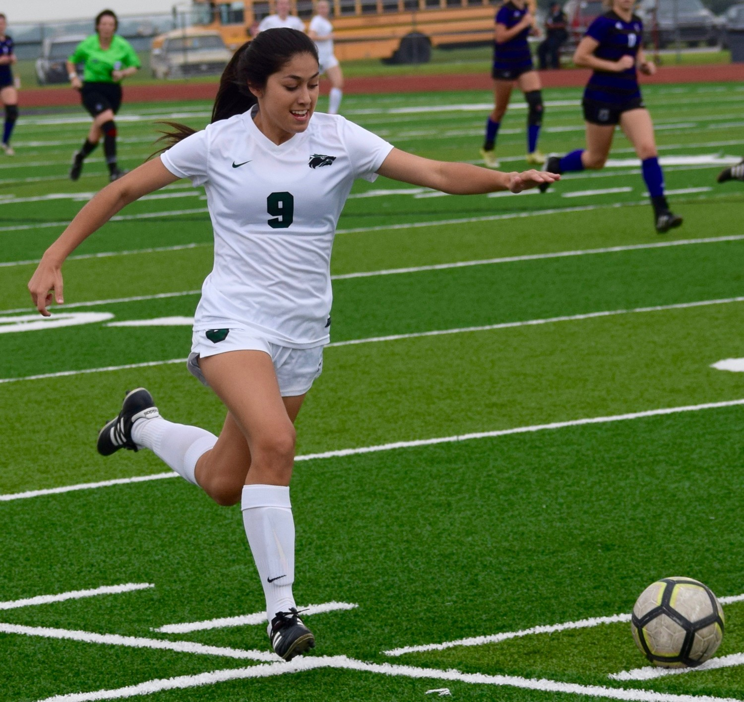 Maria Rico and Cedar Park beat College Station 2-1 in the third round of the playoffs Tuesday night.