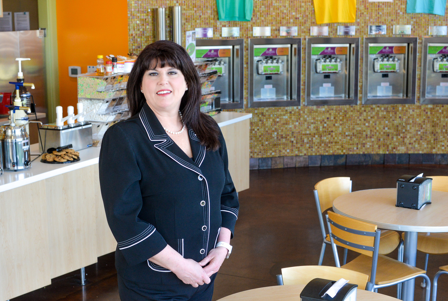 Chief nursing officer by day, Krista Baty also owns and operates the FroYo store in Cedar Park.