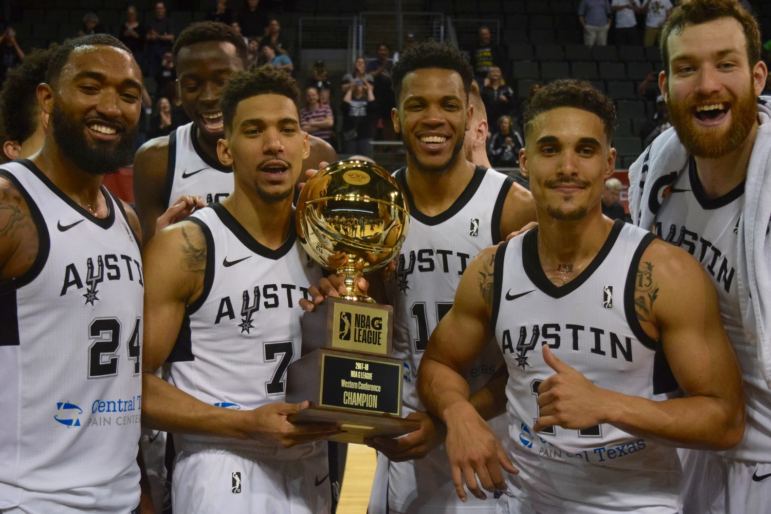 The Austin Spurs beat the South Bay Lakers 104-93 to win the Western Conference Final to advance to the G League Finals.