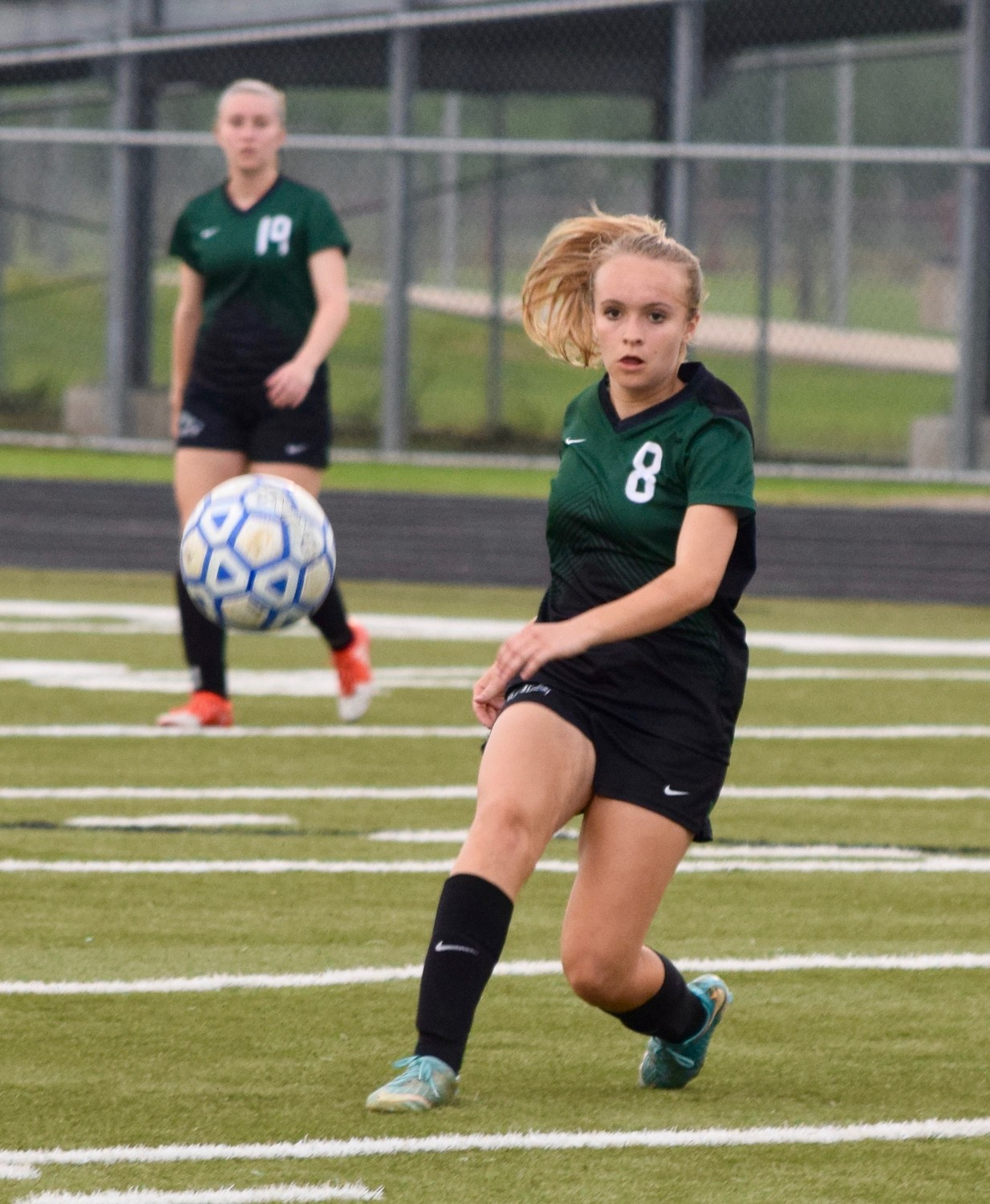 Ainsley Forbes and Cedar Park beat Tomball Memorial 1-0 in Bastrop on Friday to advance to the regional semifinals.