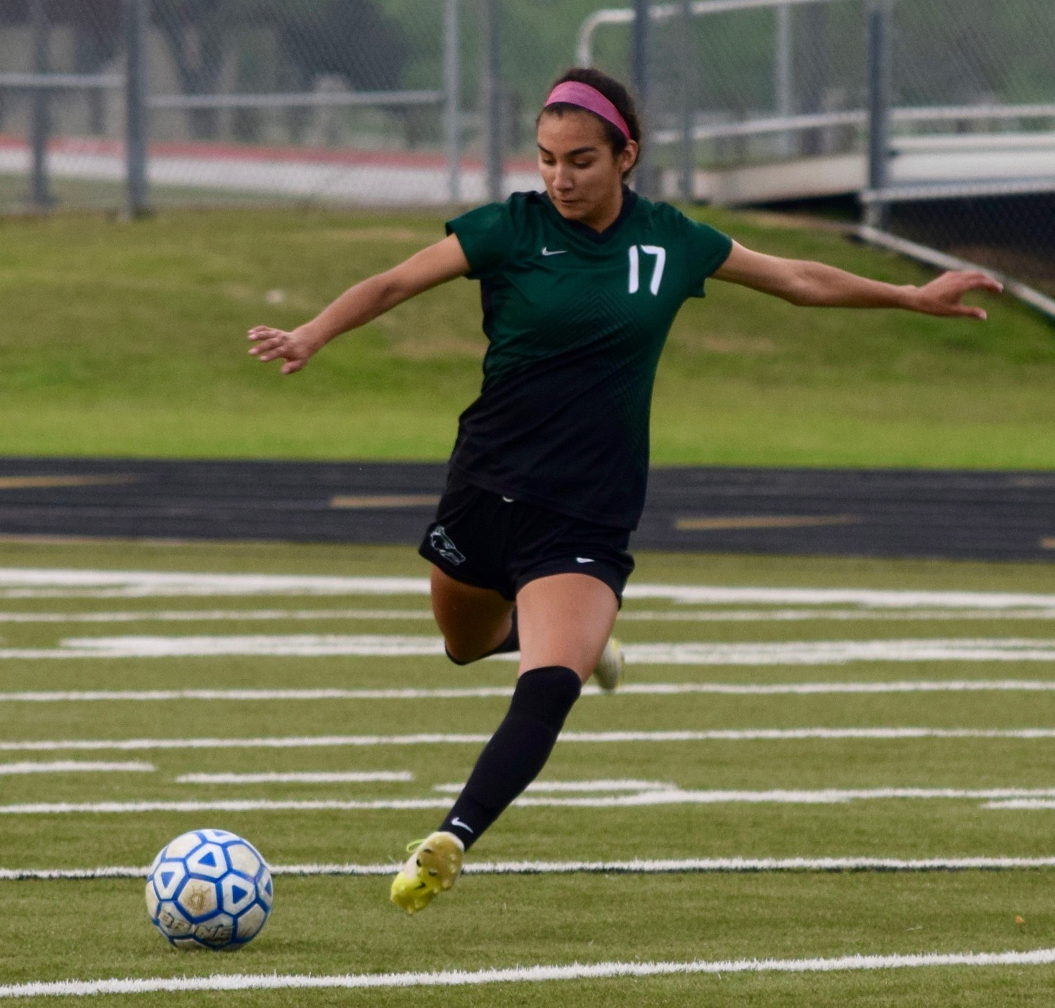 Anna Briseno and Cedar Park beat Tomball Memorial 1-0 in Bastrop on Friday to advance to the regional semifinals.
