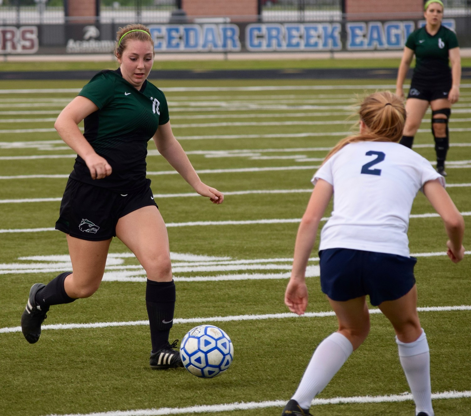 Ava Bear and Cedar Park beat Tomball Memorial 1-0 in Bastrop on Friday to advance to the regional semifinals.