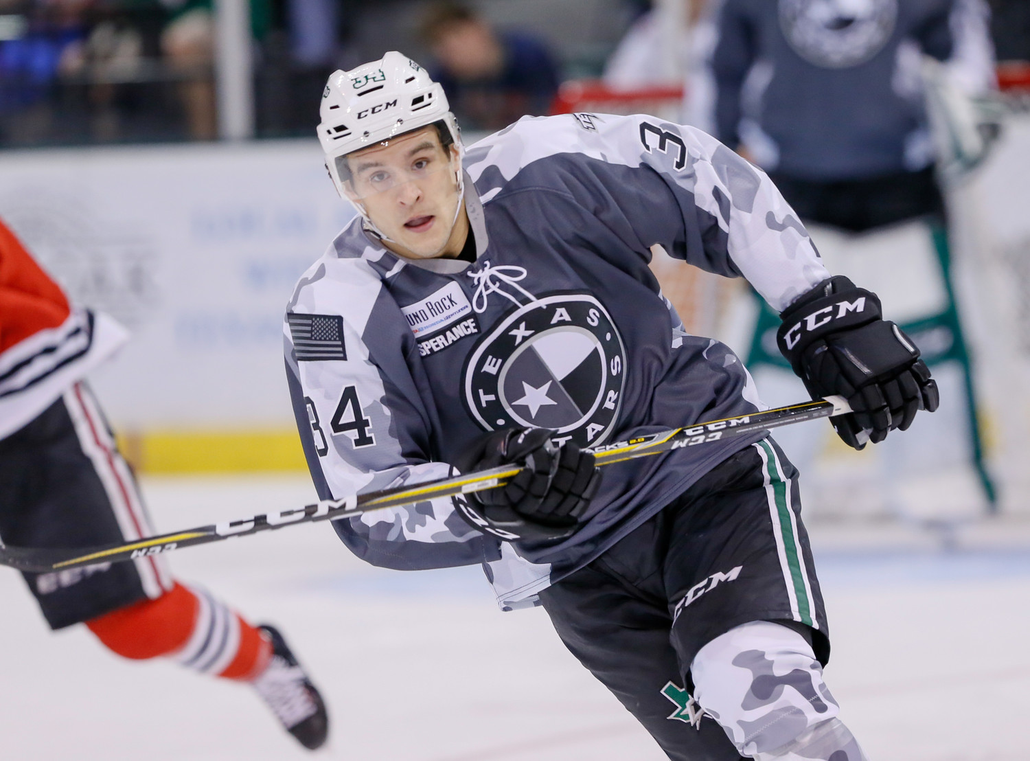 Joel L'Esperance scored the game-winning goal and the Stars rallied from down two goals to beat the Rockford IceHogs 4-3 on Saturday night and clinch a spot in the Calder Cup playoffs.