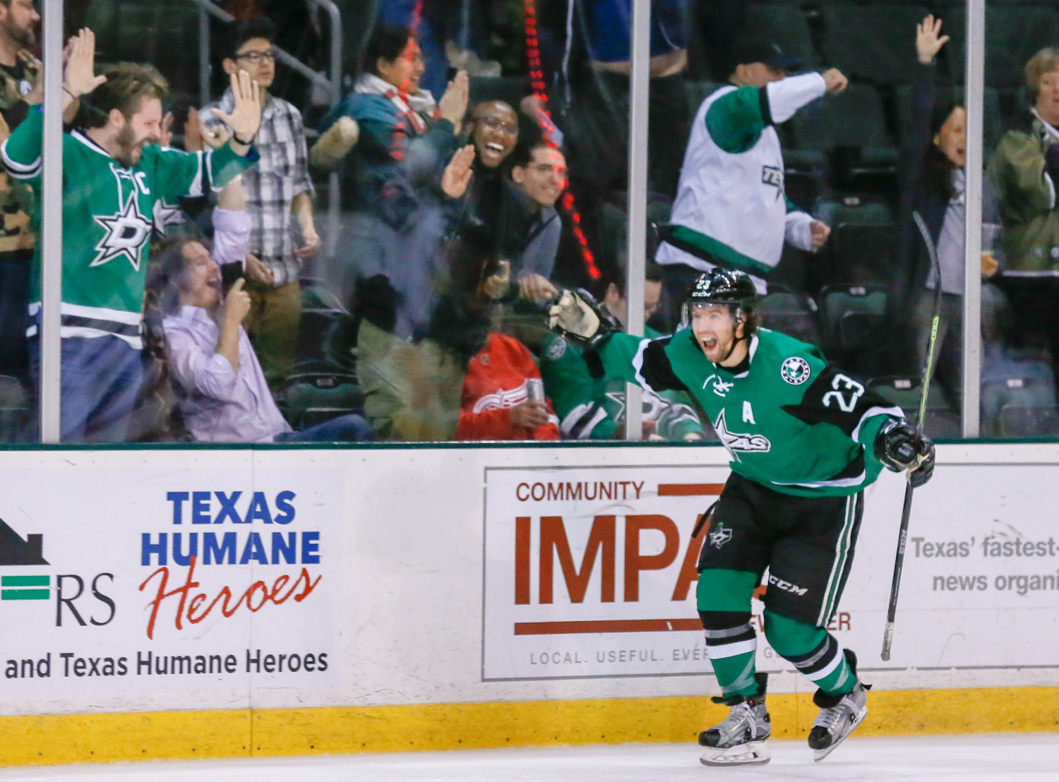 Travis Morin scored less than two minutes into overtime as the Texas Stars beat the Grand Rapids Griffins 3-2 on Wednesday night.