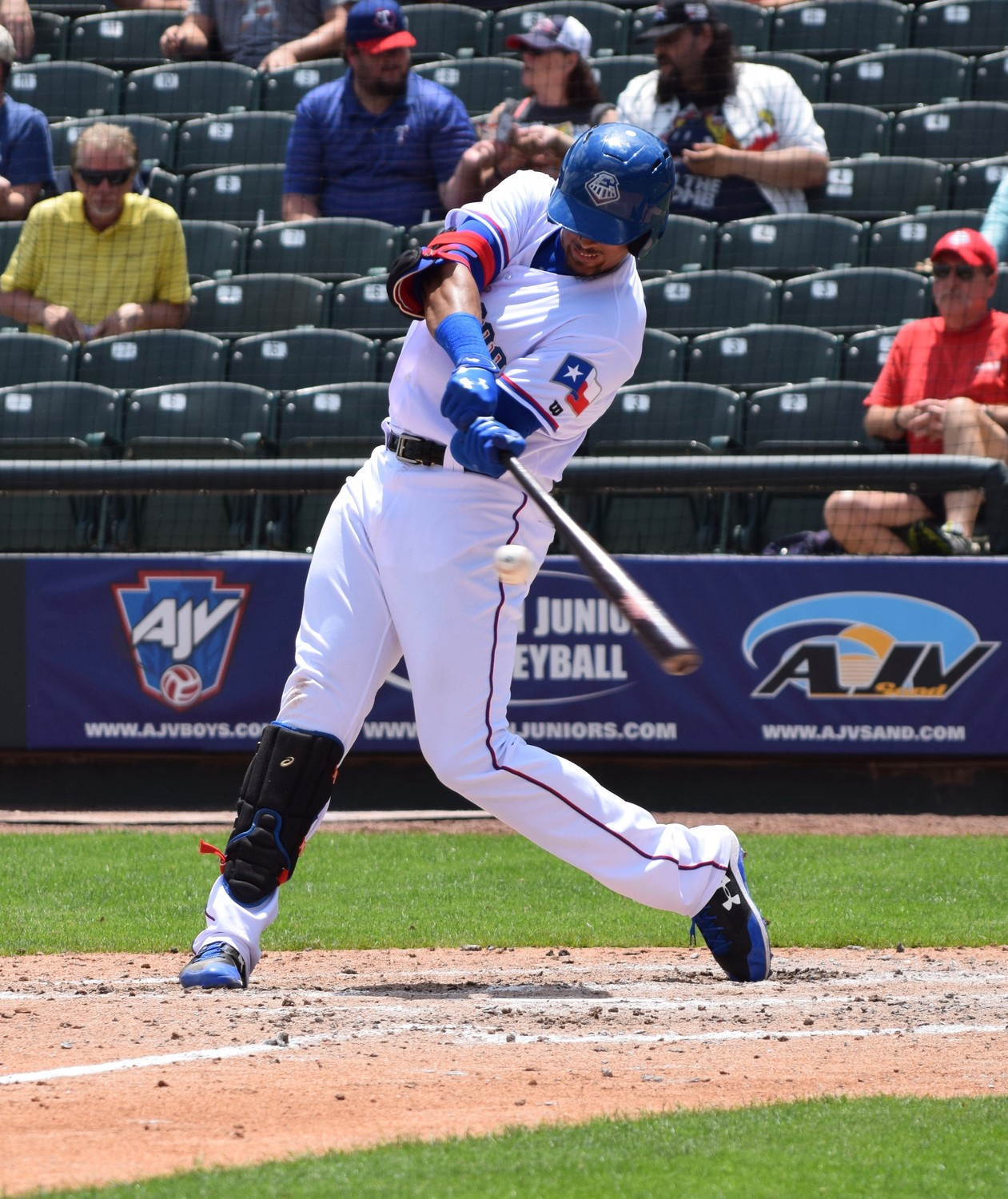 Ronald Guzman hit .298 with 12 home runs for the Round Rock Express last season, his first full season in Triple-A.