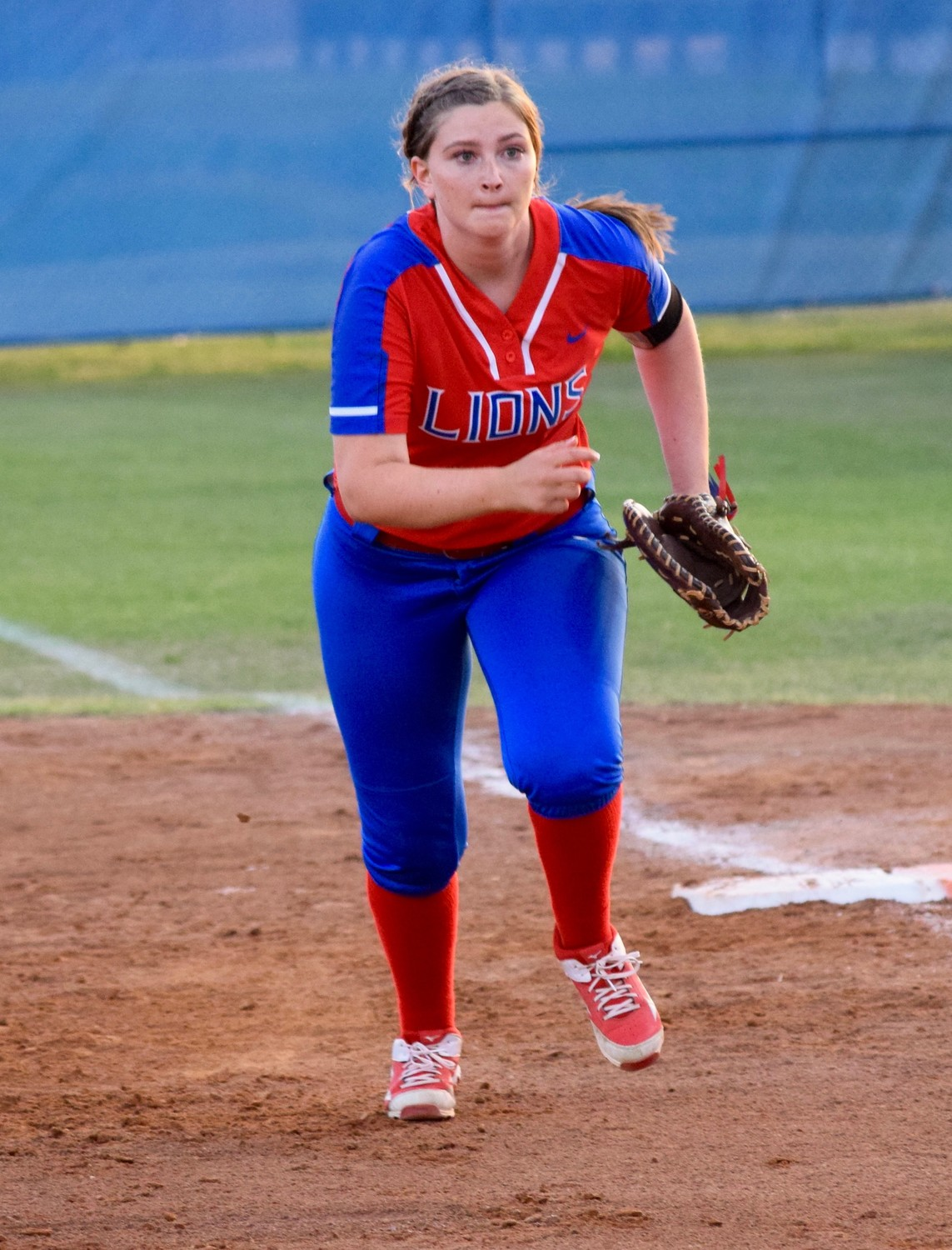 Brooke Baumgartner and Leander beat Westlake 8-5 on Tuesday night to clinch a spot in the postseason.