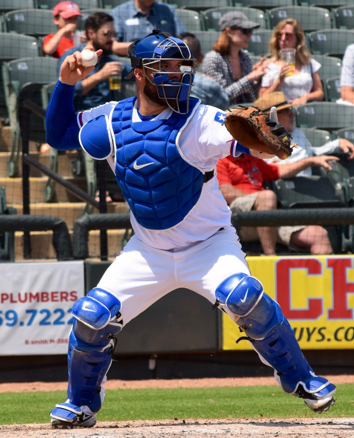 Cameron Rupp hit a walk-off grand slam Wednesday afternoon and the Round Rock Express beat the Oklahoma City Dodgers 9-6.