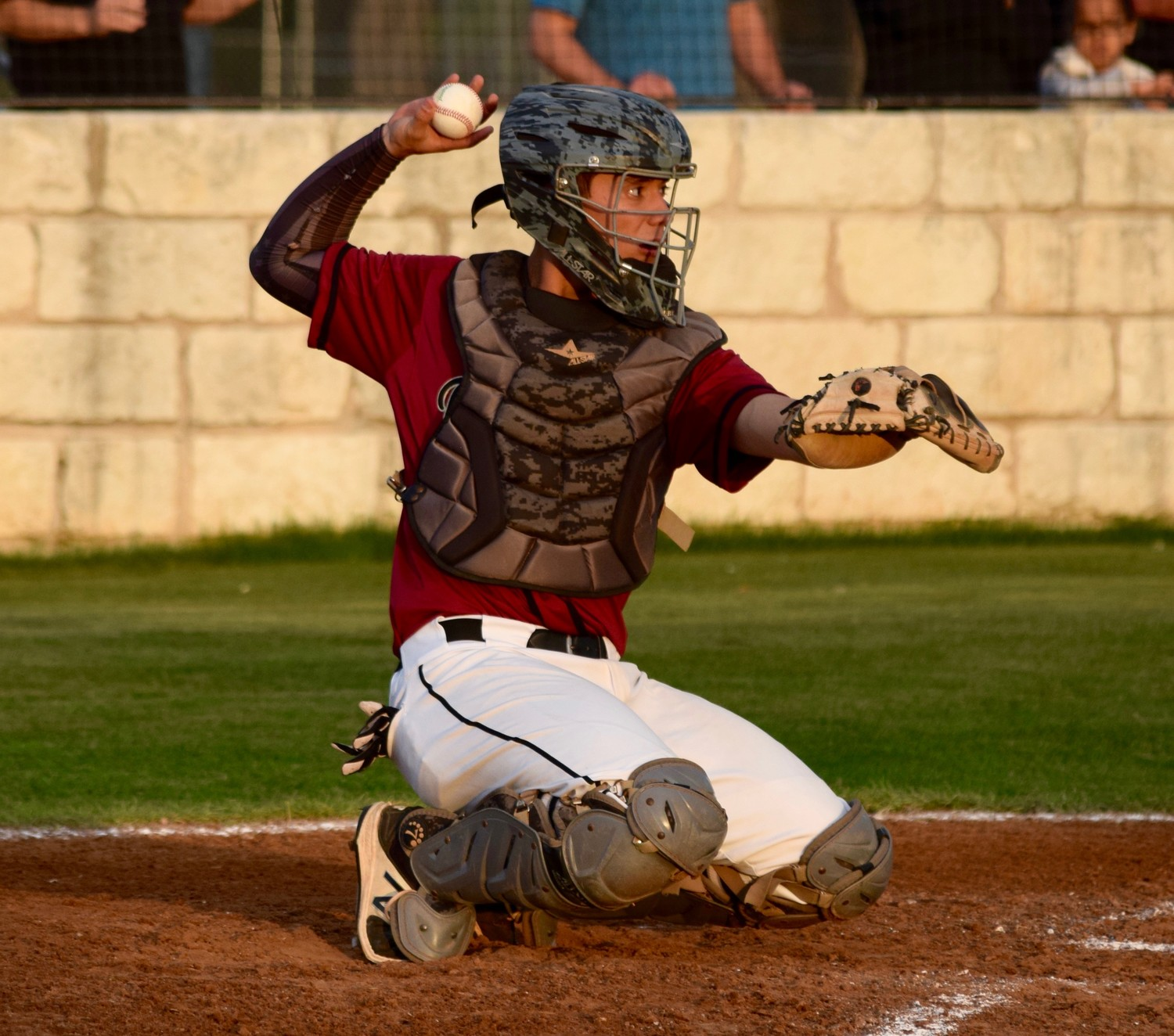 Cody Vannoy played his first season with Rouse last season and took home MVP honors as the Raiders won the District 19-5A title.