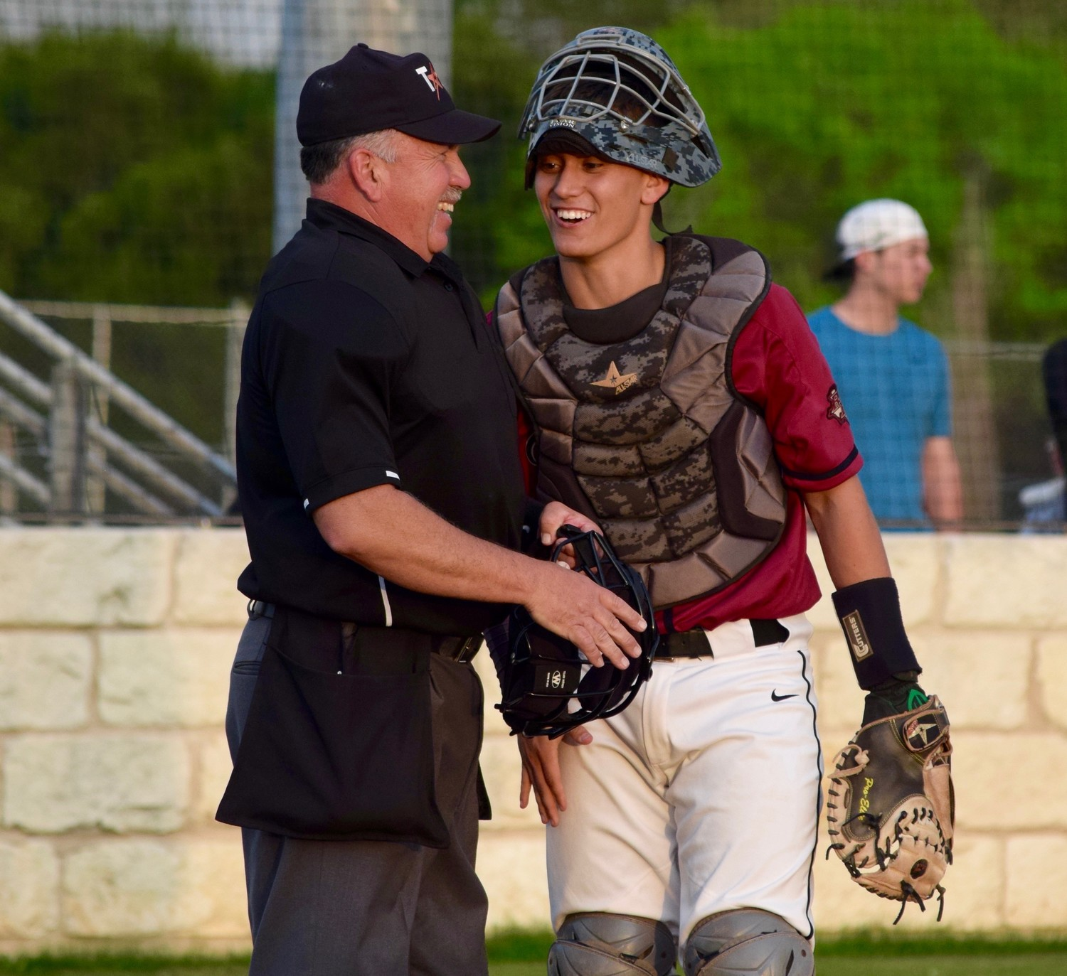 Cody Vannoy's routine includes a respectful chat with the umpire before every game. He spent the first two years of high school at Summit Christian Academy before his junior and senior years at Rouse. He'll play college baseball at UTRGV.