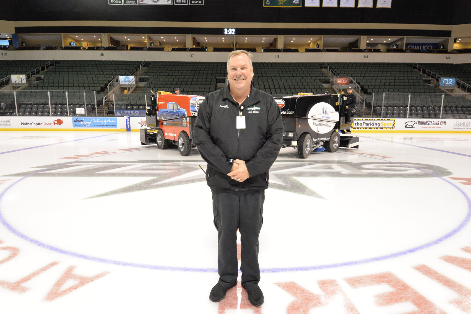 For nine years Bill White made sure the ice was smoothe as glass for the AHL Texas Stars at the H-E-B Center.