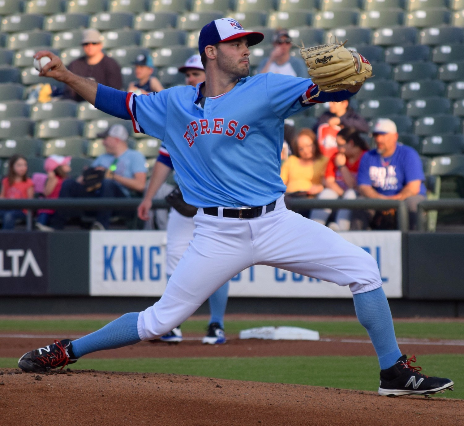 Round Rock starter David Ledbetter went 6.1 innings and allowed striking out four and allowing one run on five hits Saturday in a 6-1 win against the Colorado Springs Sky Sox.
