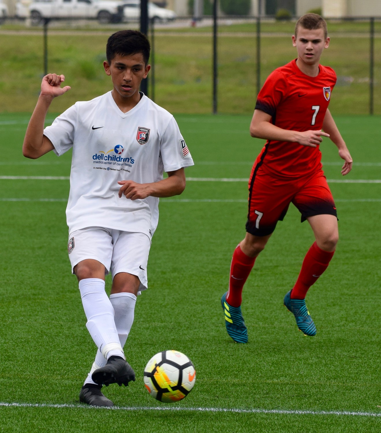 Lonestar SC and the U.S. Soccer High Performance Department are hosting the first ever bio-banded tournament this weekend at the Round Rock Multipurpose Complex.