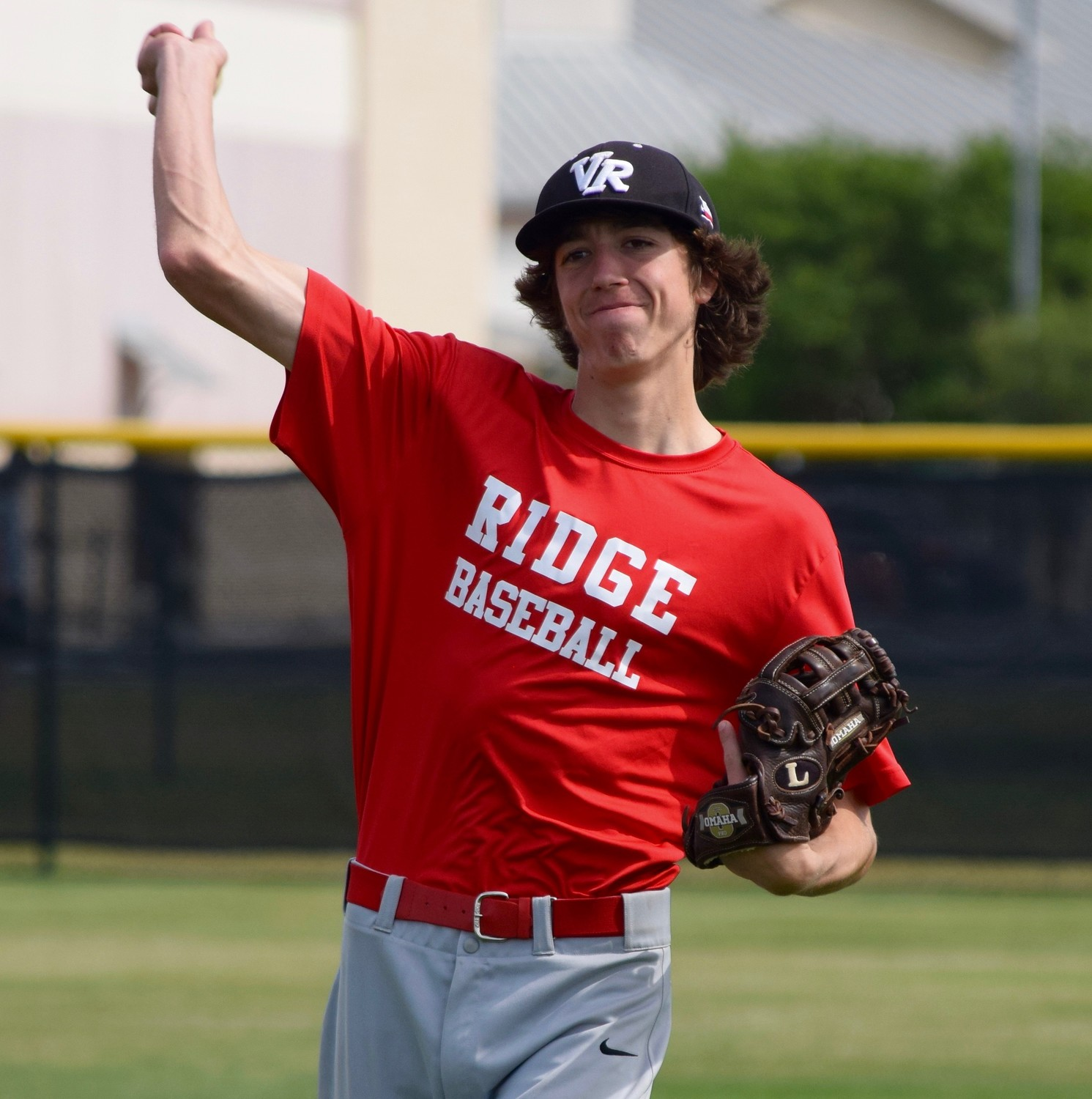 Vista Ridge pitcher Nathan Fetchel threw six innings and had five strikeouts as the Rangers handed No. 1 Lake Travis its first loss of the season last week. They will be the No. 3 seed out of District 25-6A.