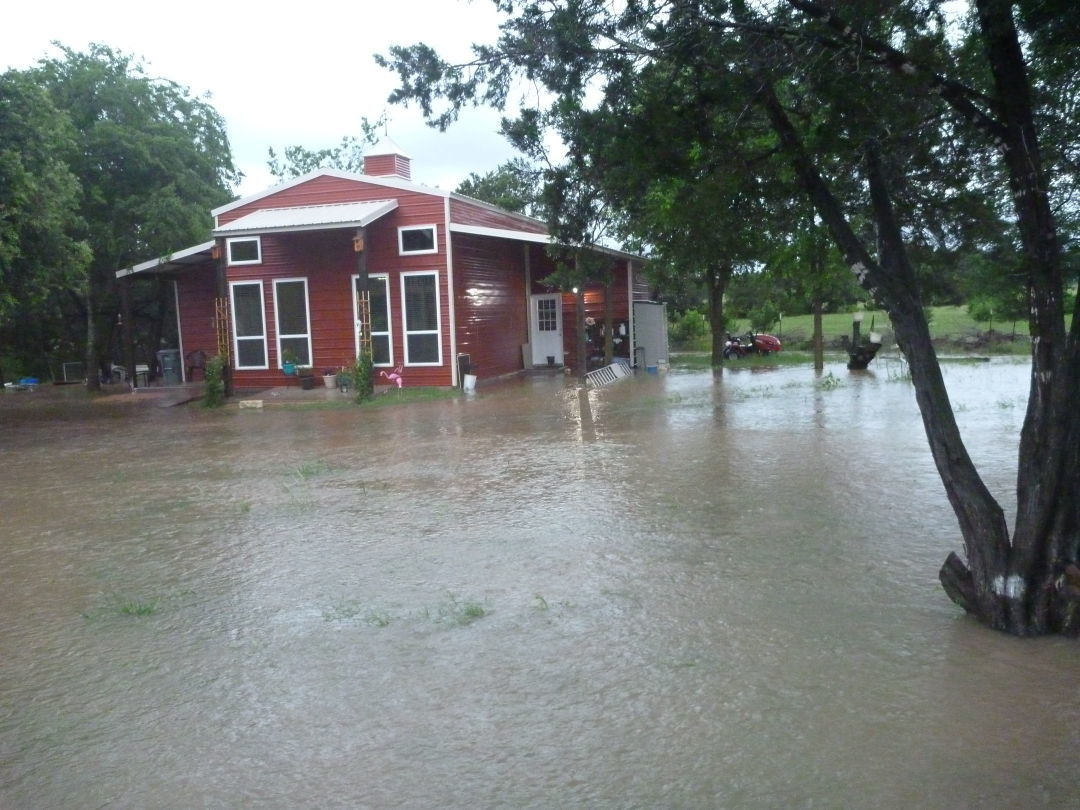 Homes in Leander's Lakewood Country Estates neighborhood have experienced an increase in flooding events in recent years.