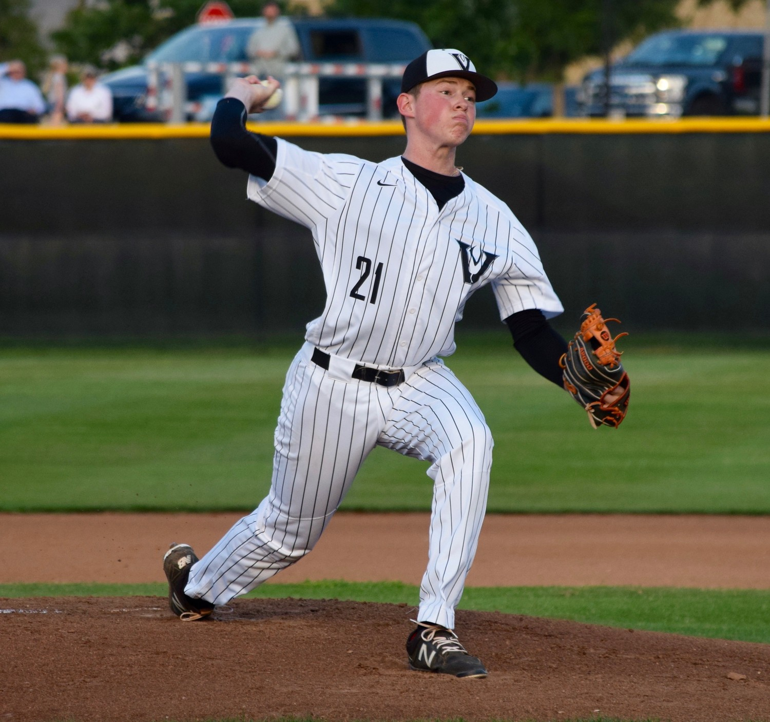 Alex Maatz pitched four innings with three strikeouts and Vandegrift lost 6-1 to San Antonio Reagan in the first game of the playoffs Wednesday night.