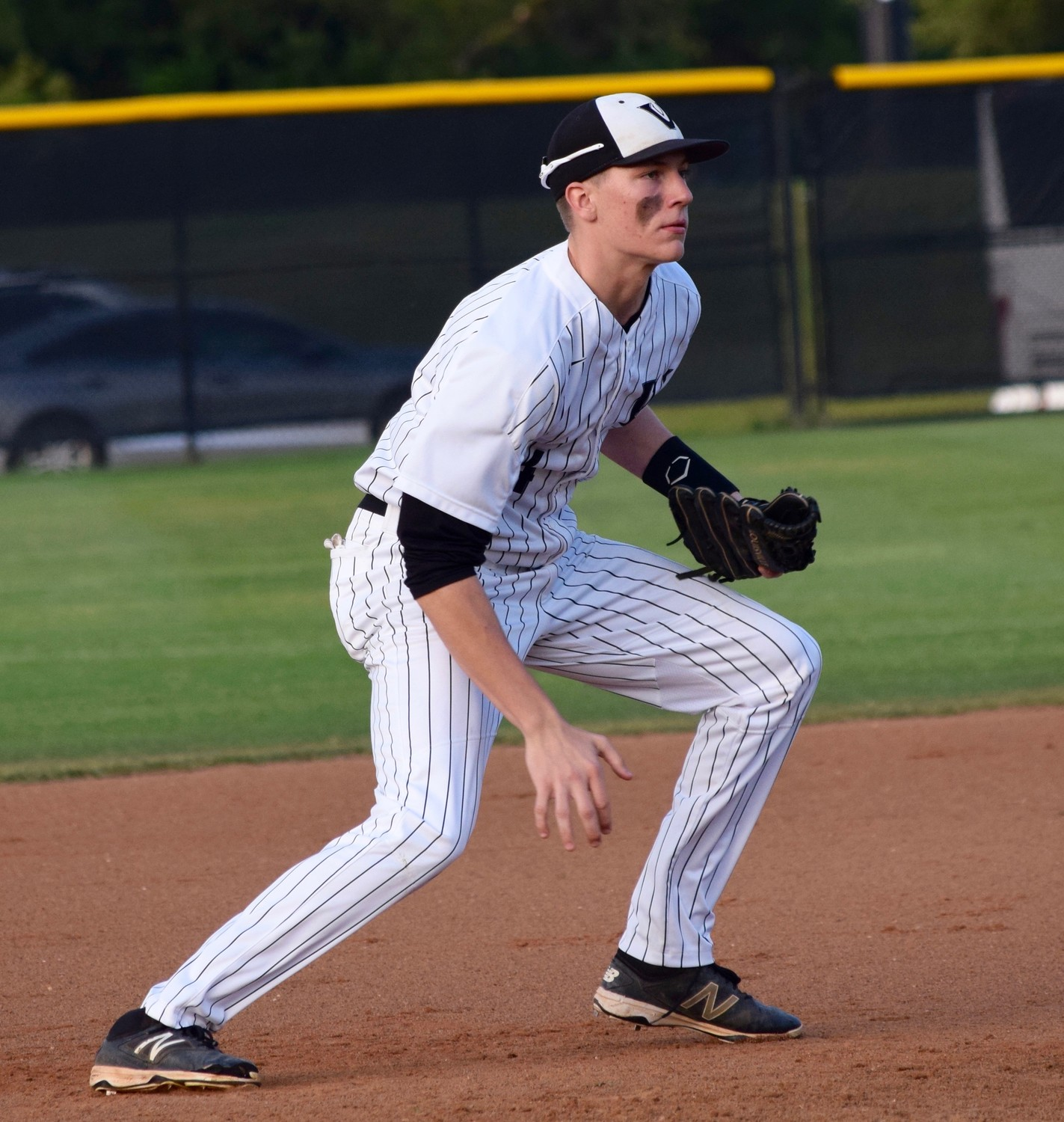 Justin Moore and Vandegrift lost 6-1 to San Antonio Reagan in the first game of the playoffs Wednesday night.