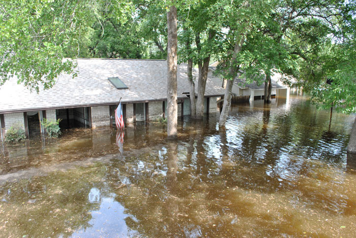 This home in the Riviera subdivision of Cedar Park was flooded in 2010. New FEMA flood maps will bring changes to several areas in Cedar Park and Leander, and those will likely result in changes to some homeowners' insurance rates.