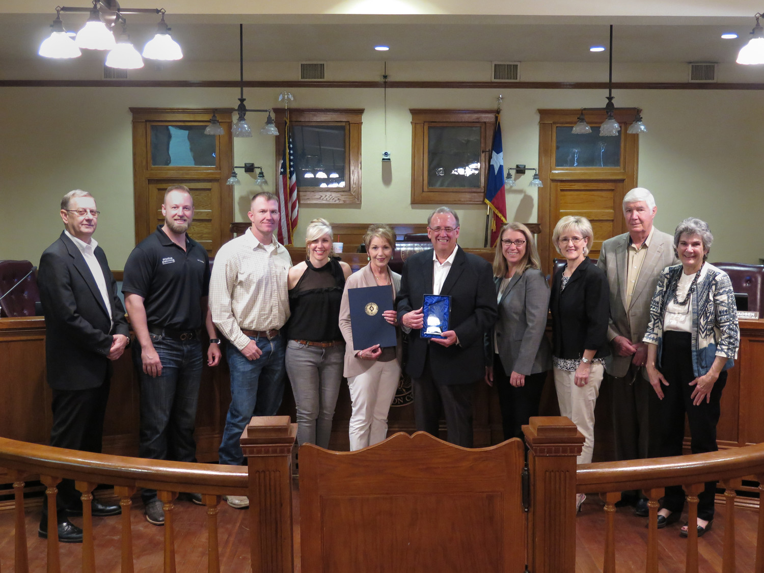 The Williamson County Commissioners Court honored longtime county employee John Sneed with a resolution in his name on April 24, just two days before his retirement.
