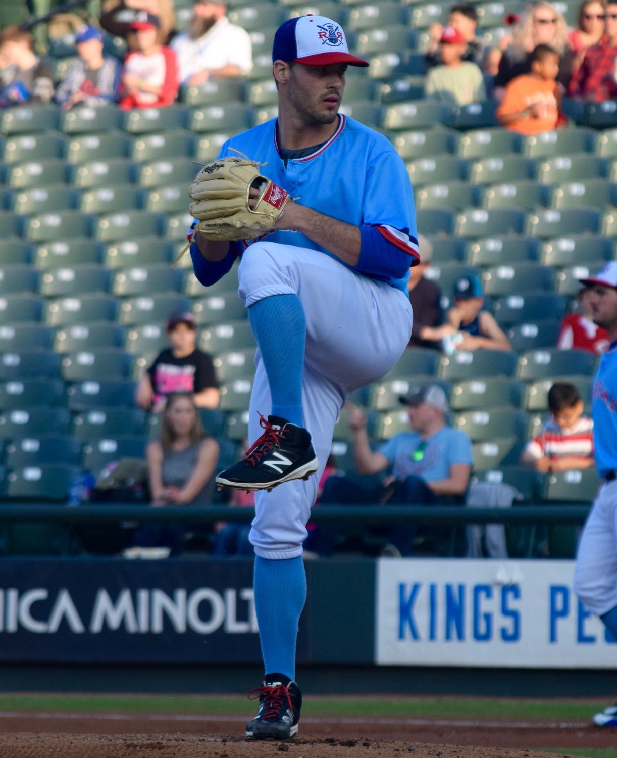 Express starter David Ledbetter allowed two runs on four hits with four walks and three strikeouts in six innings of work and Round Rock lost to the New Orleans Baby Cakes 8-4 Thursday night.