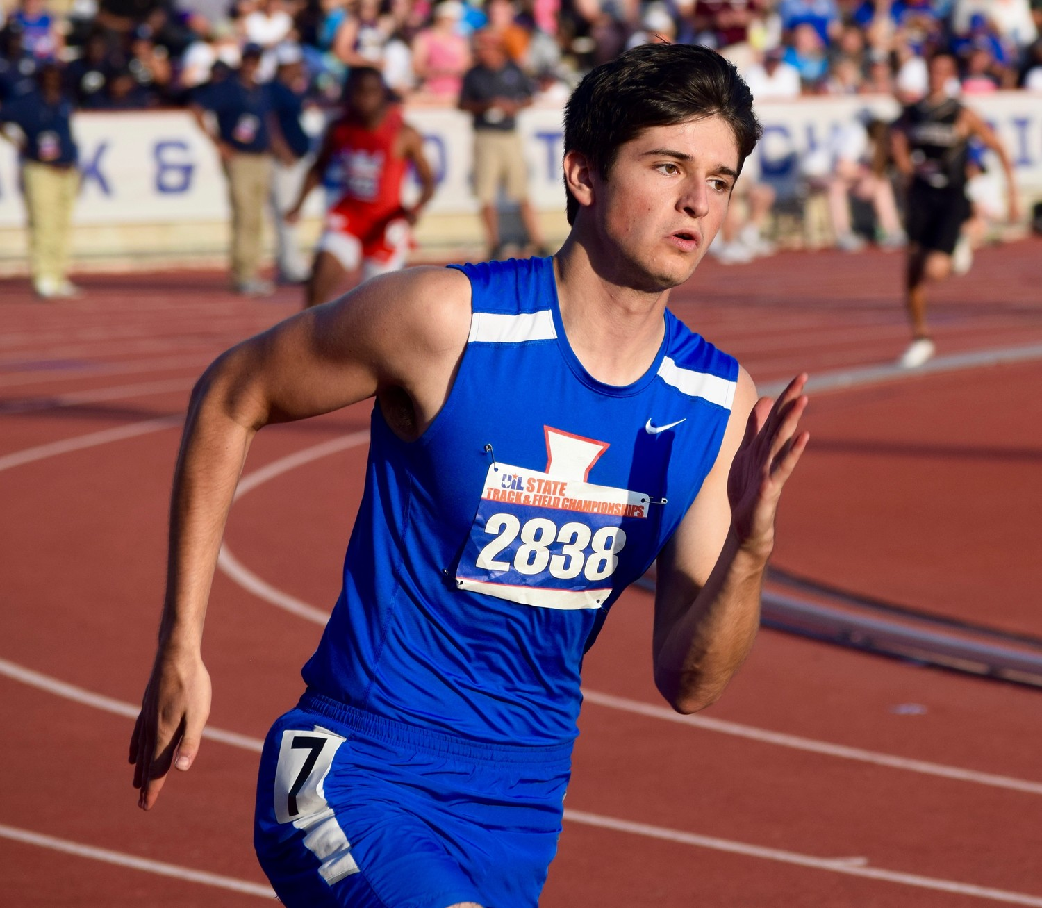 Leander senior finished ninth in the 400-meter dash with a time of 49.87 at the State Track & Field Meet on Saturday.