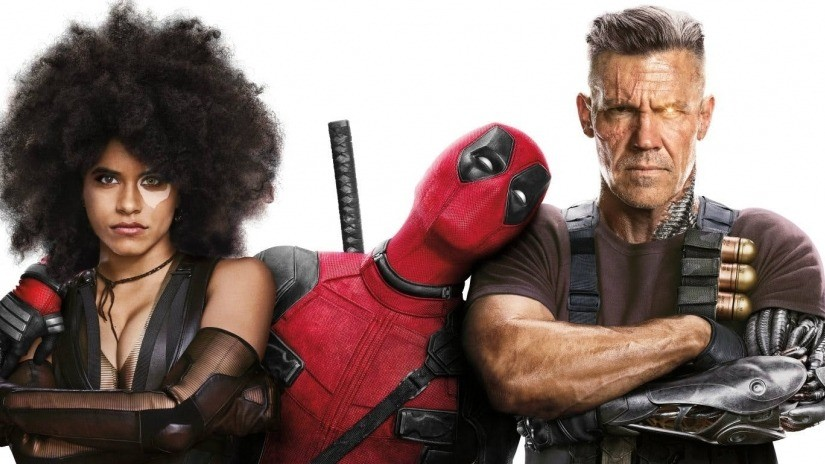 "Zazie Beetz, Ryan Reynolds and Josh Brolin star in ""Deadpool 2."""