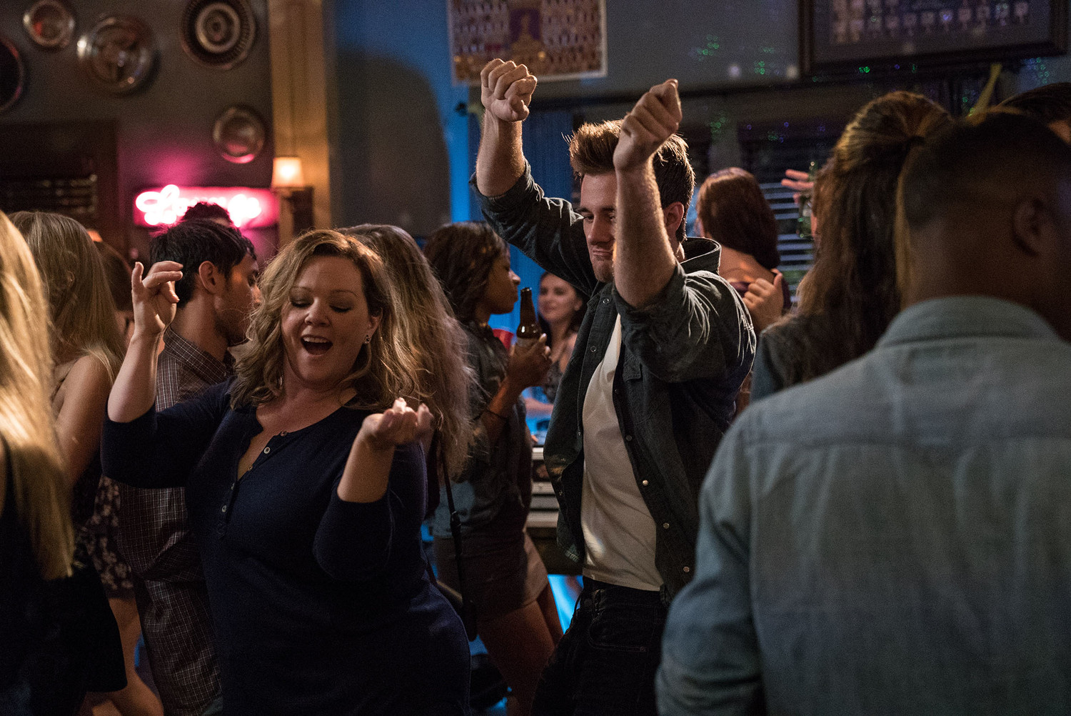 "MELISSA McCARTHY as Deanna and LUKE BENWARD as Jack in New Line Cinema's comedy ""LIFE OF THE PARTY,"" a Warner Bros. Pictures' release."