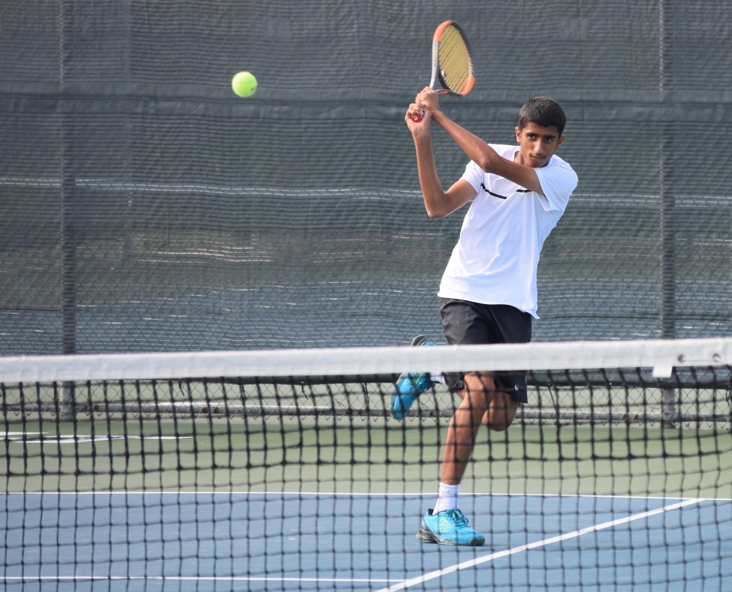 Vandegrift's Jai Naik competed at the state tennis tournament in College Station last week. He lost to Westwood's Gaurav Singh 6-3, 7-6 (5) in the semifinals.