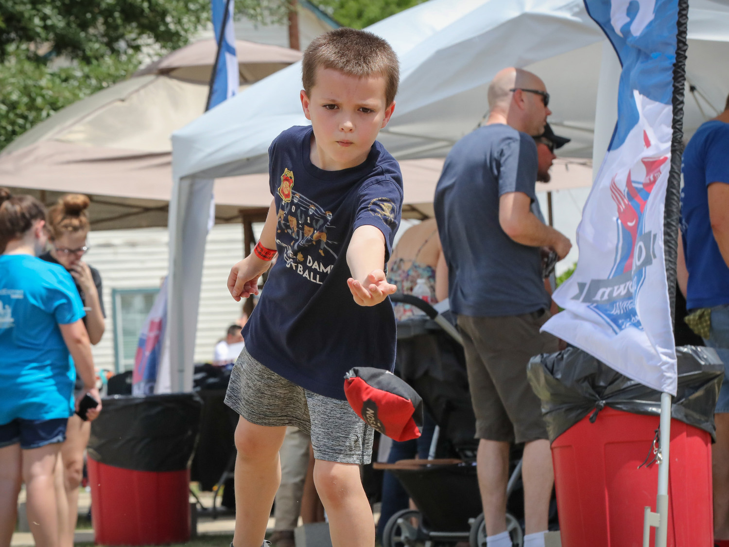 Families enjoyed the clear skies and warm temperatures for the 2018 Leander Old Town Street Festival on Saturday, May 19, 2018.
