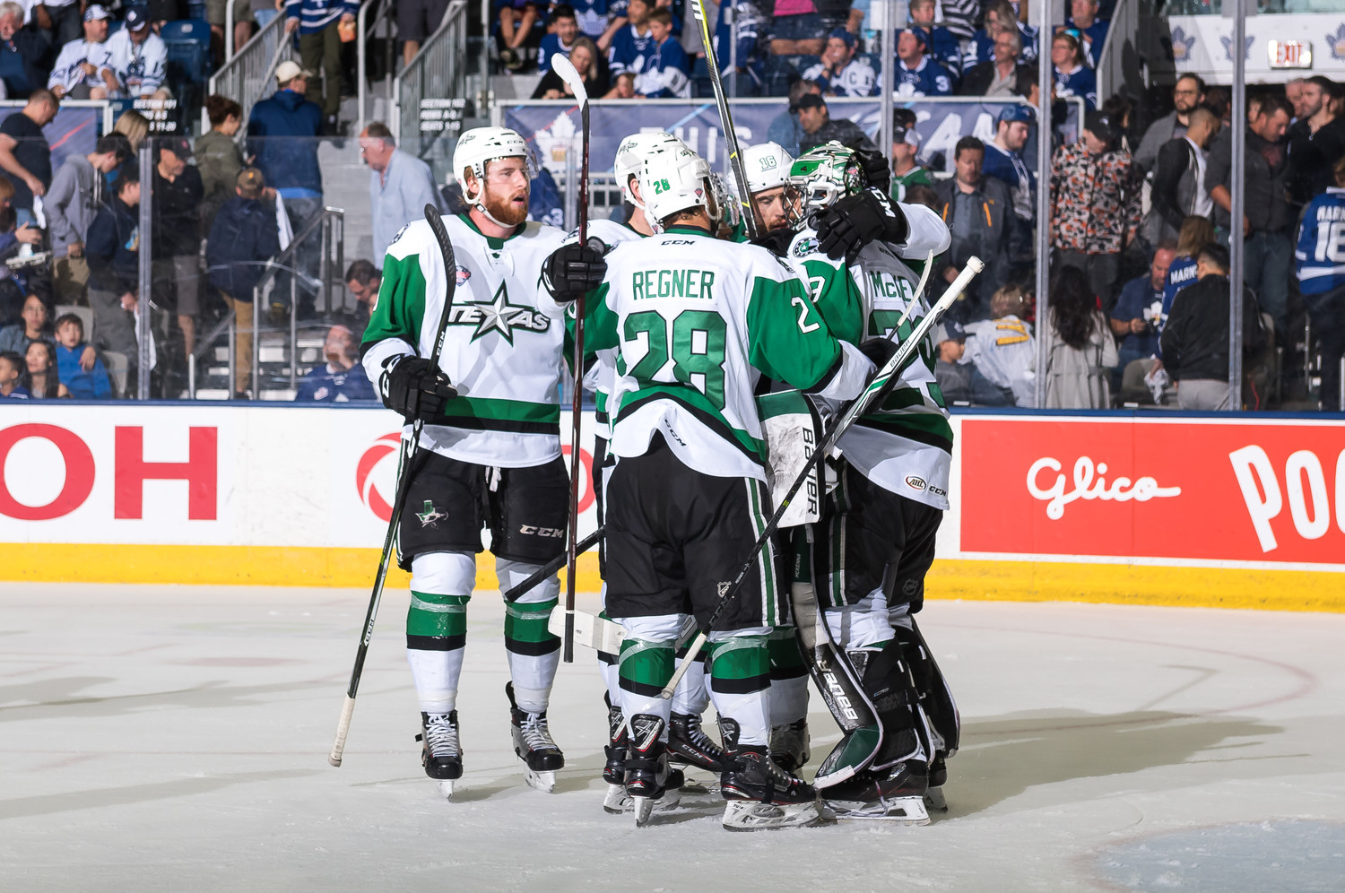 The Stars beat the Toronto Marlies 2-1 in Game 2 of the Calder Cup Finals. The best-of-seven series is tied 1-1 and shifts to Texas beginning Tuesday at 7 p.m.