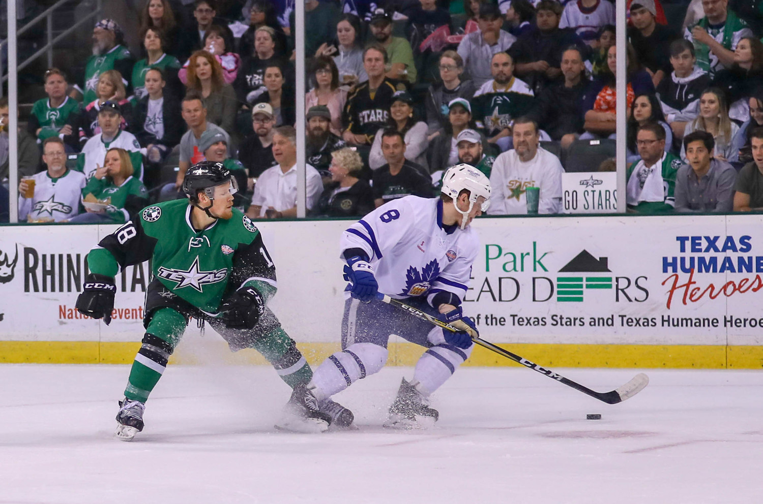 Brent Regner and the Stars fell to the Marlies 2-1 in Game 3 of the Calder Cup Finals Tuesday night at the HEB Center. Toronto leads the best-of-seven series 2-1 with Game 4 set for Thursday at 7 p.m.