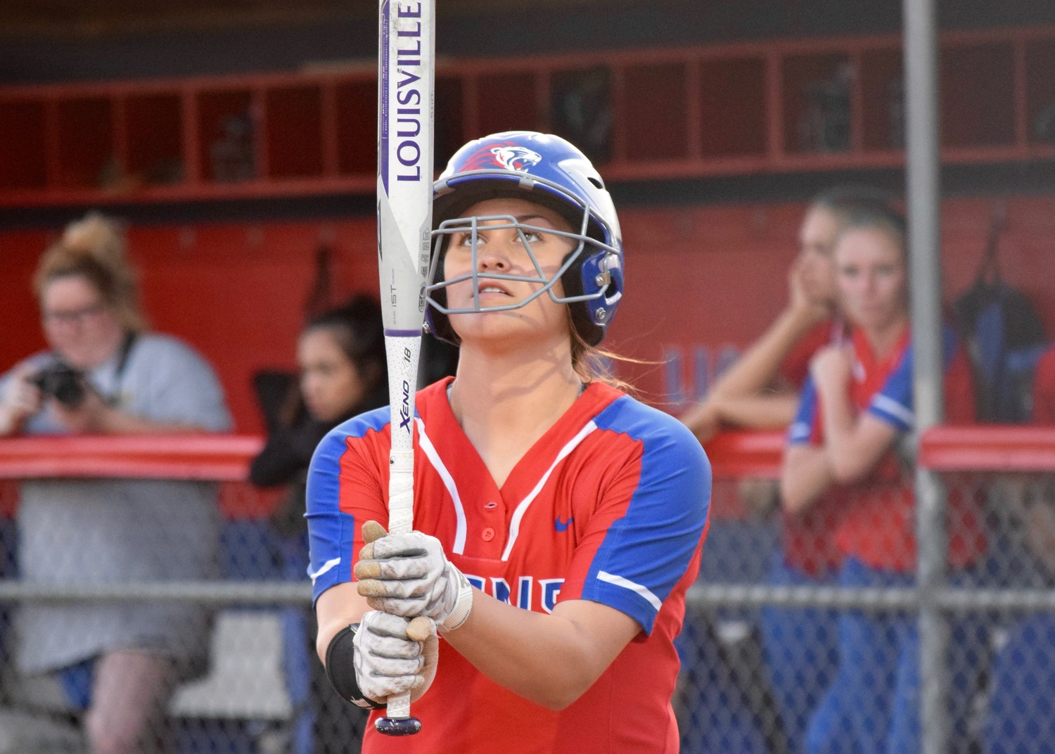 Leander freshman Baylea Brandon was named District 25-6A Offensive MVP. The Lady Lions finished in fourth place in the district and made the playoffs.