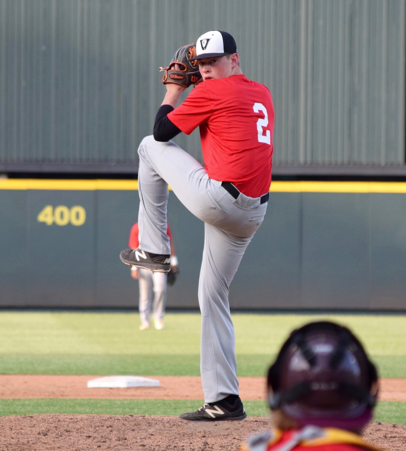 Vandegrift's Alex Maatz was the top pitcher for the South at the Austin Area Baseball Coaches Association All-Star Game Saturday at Dell Diamond.