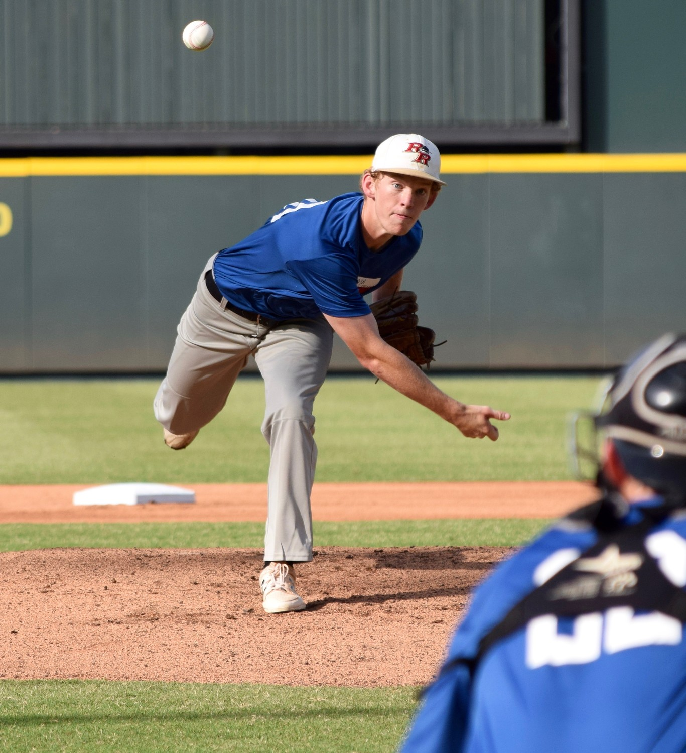 Rouse' Hayden Thomas participated in the Austin Area Baseball Coaches Association All-Star Game Saturday at Dell Diamond. His North team beat the South 21-5.